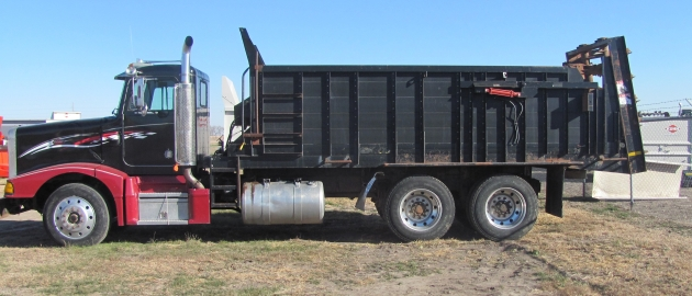 Truck Mounted manure Spreader