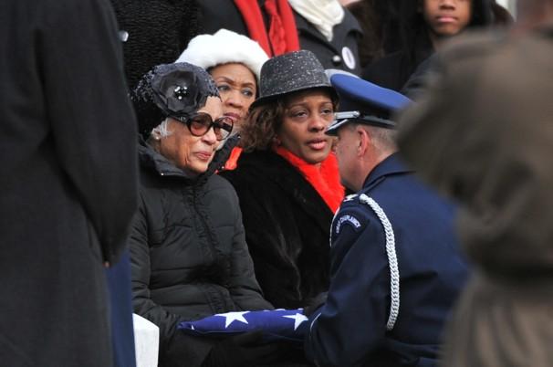 Lt. Col. Luke Weathers Jr. funeral