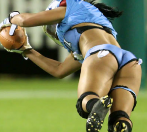 Will Ralston's Lingerie Football League Have Better Officials than the NFL?