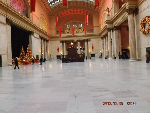 The Great Hallthe main waiting room
