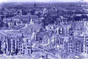 Dresden in 1945