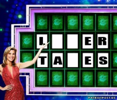 Taxes (wheel of Fortune) aren't the answer