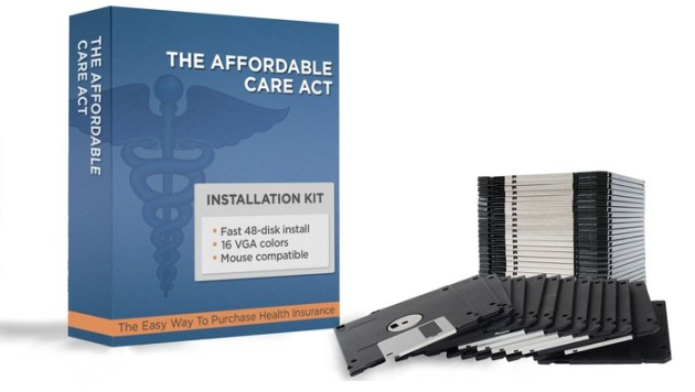 New, Improved Obamacare Program Released On 35 Floppy Disks | The Onion - America's Finest News Source