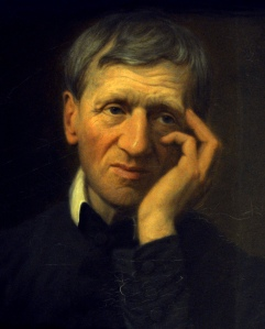 PORTRAIT OF ENGLISH CARDINAL JOHN HENRY NEWMAN