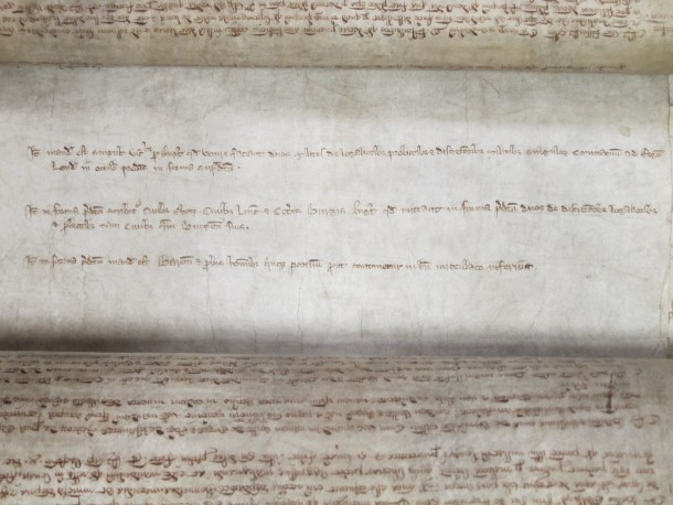 A Close Roll (TNA ref C 54/82) records the various writs sent out to summon people to the 1265 parliament