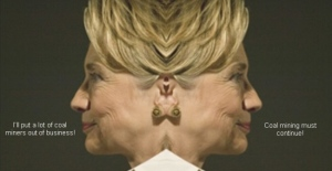 hillary-two-faced