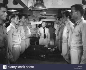 ouragan sur le caine The Caine Mutiny  Année : 1954 - usa Humphrey Bogart, Fred MacMurray, Van Johnson  Réalisateur : Edward Dmytryk