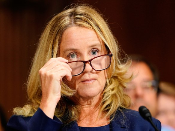 Image result for Christine Basey Ford
